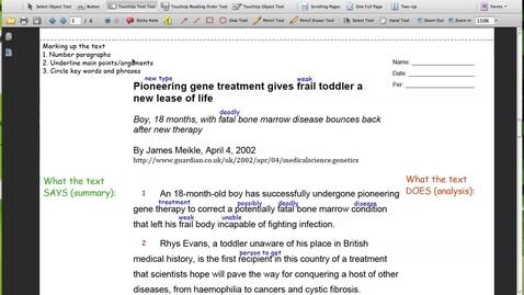 Thumbnail for entry Gene Treatment (Pg 3 Par 1-5)