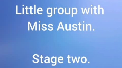 Thumbnail for entry 4 Balloons. Little group with Miss Austin