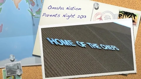 Thumbnail for entry Omaha Nation Parents Night 2013