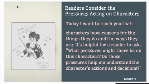 Thumbnail for entry ELA 1: Lesson #4 Study of Character