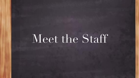 Thumbnail for entry Meet the Tiger Staff - Mrs. Wrye