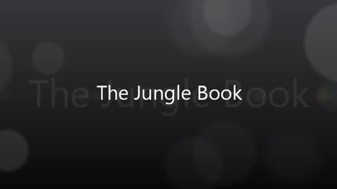 Thumbnail for entry The Jungle Book