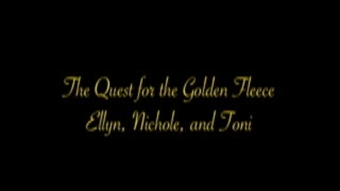 Thumbnail for entry The Quest for the Golden Fleece