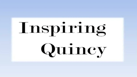 Thumbnail for entry Inspire Quincy February 2014