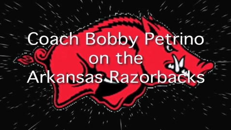 Thumbnail for entry Bobby Petrino