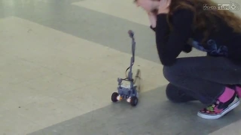 Thumbnail for entry Voice-controlled rover test