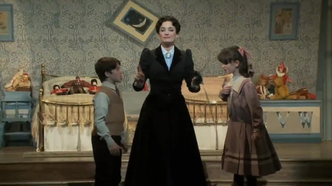 Thumbnail for entry A Sneak Peek of MARY POPPINS on Broadway