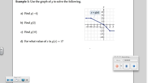 Thumbnail for entry 2-4 Applications Review & Piecewise Functions Review