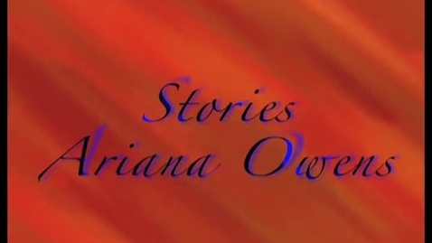 Thumbnail for entry All our Stories- Arianna