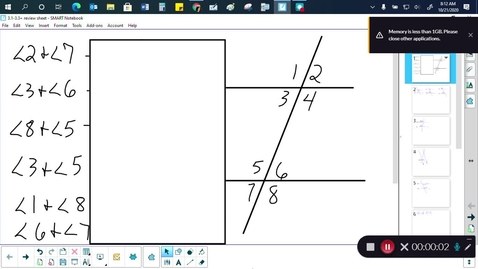 Thumbnail for entry Geometry 3.1-3.3+ Review Sheet