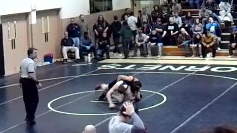 Thumbnail for entry Wrestling Harvard 2010 32