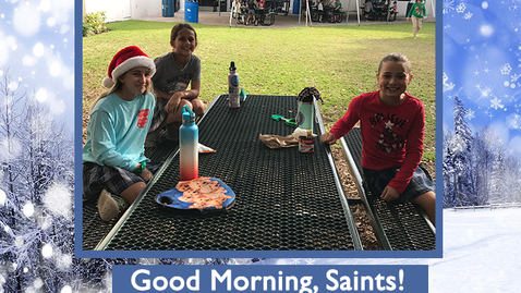 Thumbnail for entry Saints @ 8 - January 19. 2021