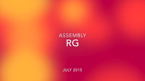 Thumbnail for entry RG Assembly July 2015