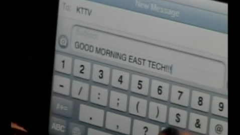 Thumbnail for entry 10-28-10 Good Morning East Tech Friday Show
