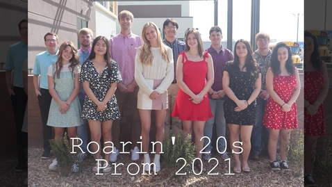 Thumbnail for entry 2021 Hays High School Prom Royalty
