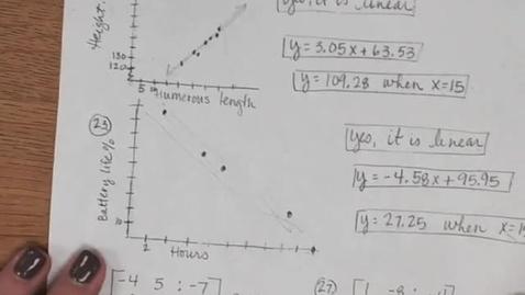 Thumbnail for entry Algebra II Semester Exam Review Part 2