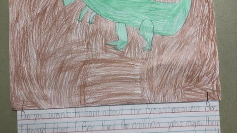 Thumbnail for entry Learning about T-Rex Vid1