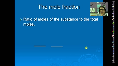 Thumbnail for entry Unit 5 Mole Fraction