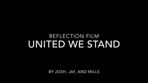 Thumbnail for entry Reflections 2015: Jay, Josh, and Mills