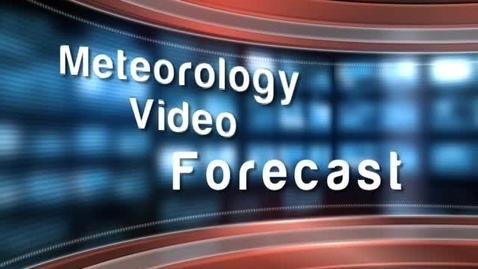 Thumbnail for entry Meteorology Video Forecast - New York