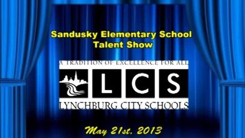 Thumbnail for entry 2013 Sandusky Elementary School Talent Show