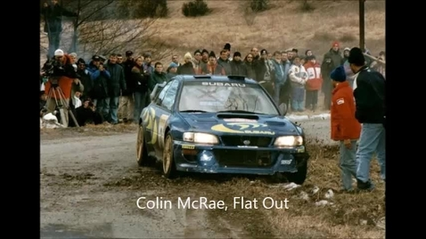 Thumbnail for entry Colin McRae, Flat Out