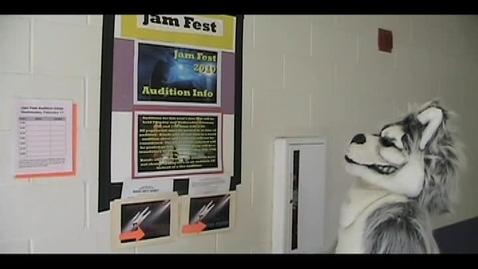 Thumbnail for entry Huskie Mascot Jamfest Promo