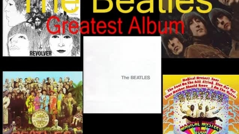 Thumbnail for entry The Greatest Beatles Albums - WSCN (2009-2010)