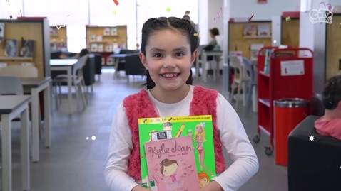 Thumbnail for entry Bibliotecaria: explicado para niños | Y tú ¿en qué trabajas?