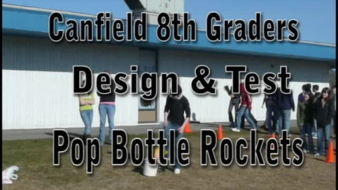 Thumbnail for entry Pop Rocket Launching