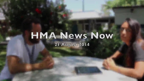 Thumbnail for entry HMA News Now 21 August 2014