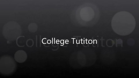 Thumbnail for entry College Tuition by Madisen Olsen
