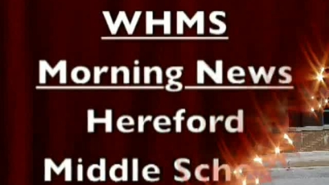 Thumbnail for entry 5-16-13 WHMS Morning News