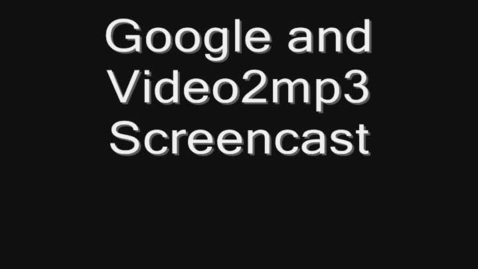 Thumbnail for entry Screen O Matic Screen Cast