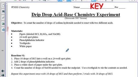 Thumbnail for entry Honors Balancing Chemical Equations Notes