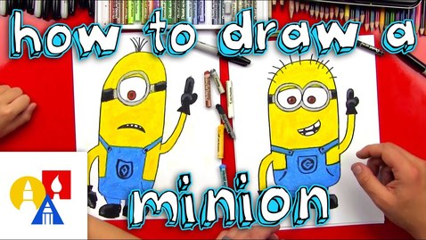 Thumbnail for entry How To Draw A Minion