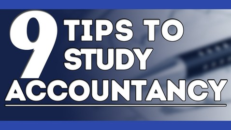 Thumbnail for entry How To Study Accounts | 9 Smart Tips to Study Accountancy | Letstute Accountancy
