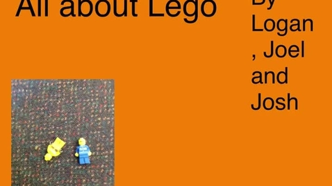 Thumbnail for entry All about Lego