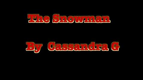Thumbnail for entry 3d Cassandra