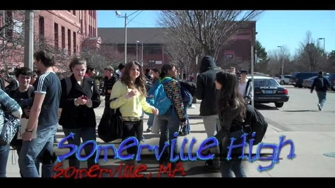 Thumbnail for entry Somerville High Commencement Challenge