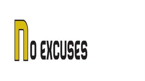 Thumbnail for entry No Excuses - WSCN (Warren Acronym 2017/2018)