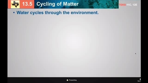 Thumbnail for entry Biogeochemical Cycle Notes