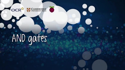 Thumbnail for entry AND gates