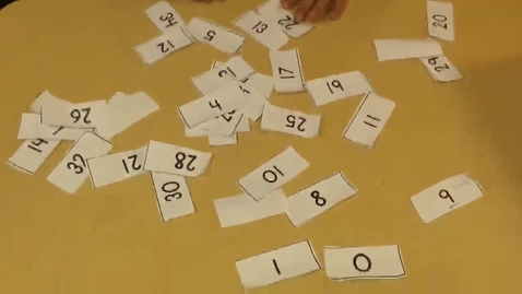 Thumbnail for entry Arranging Number Cards 0-35