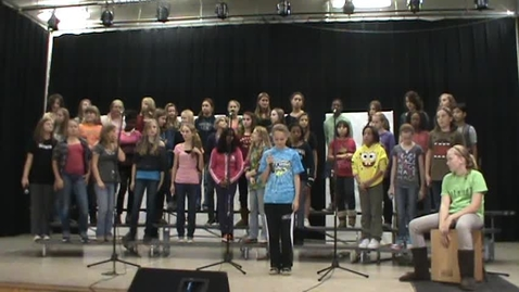 Thumbnail for entry CMS Girl's Choir - Rolling in the Deep