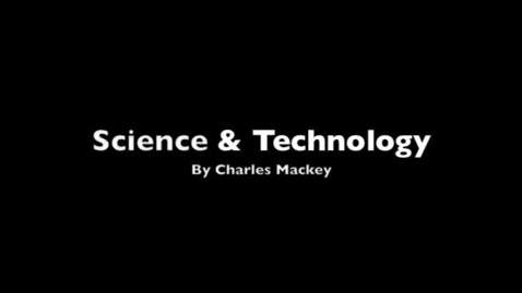 Thumbnail for entry Science and Technology