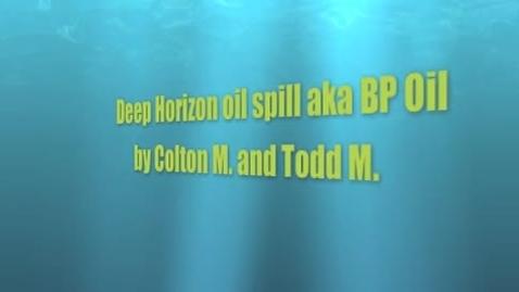 Thumbnail for entry Pd 1 Deep Horizon Spill