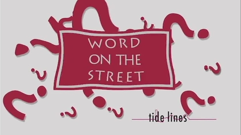 Thumbnail for entry 120916 Word on the Street