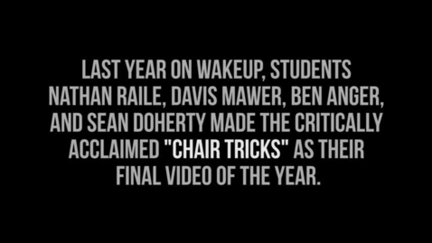 Thumbnail for entry Chair Tricks 2