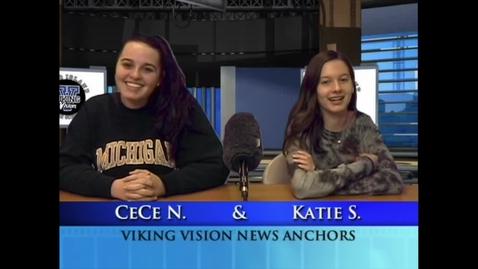 Thumbnail for entry Viking Vision News Tues 11-20-2018 #531